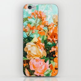 Blush Garden #painting #nature #floral iPhone Skin