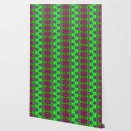 ZigZag Green Geodes Wallpaper