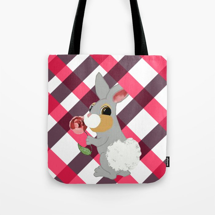 Thumper Roo Tote Bag By Funfetti7