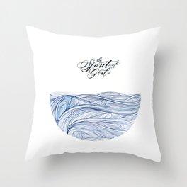 Spirit of God Throw Pillow