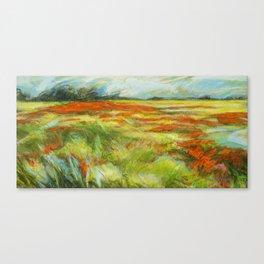 Le vent de la plaine Canvas Print