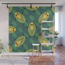 Funny Corn Wall Mural