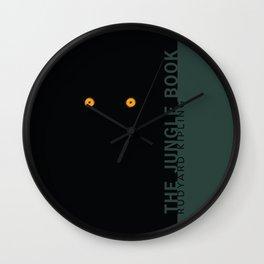 the classics .. tiger's eyes Wall Clock