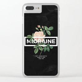 TOP Migraine Clear iPhone Case