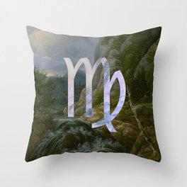 Fine Zodiac / Virgo Throw Pillow