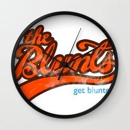 The Blunts Classic Orange Wall Clock