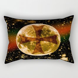 A Templar Night 003 Rectangular Pillow