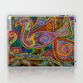 A Princely Peacock  Laptop & iPad Skin