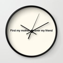 Mothers Day VIII Wall Clock