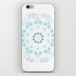 Spring breeze mandala iPhone Skin
