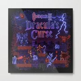 Curse Vania Dracula's Castle 3 Metal Print