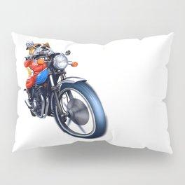 A BULLDOG RIDING BIKE Pillow Sham