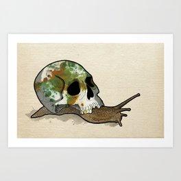 Slow Death Art Print