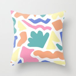 Playful Puzzle Throw Pillow