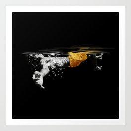 Black Water II Art Print