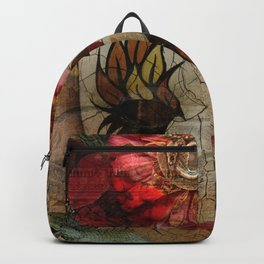 Venetian Mask in Fantasy World Backpack
