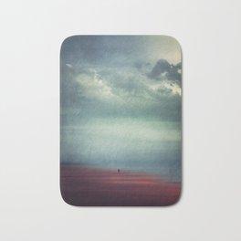 Nothing Matters - Abstract Minimal Beach Scene Bath Mat