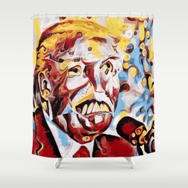 The Leader of the Free World is a Monster Shower Curtain