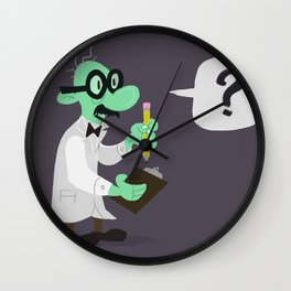 The Questionater Wall Clock