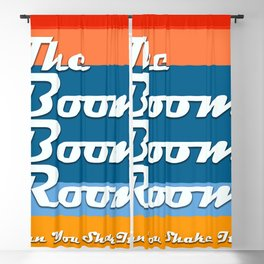 The Boom Boom Room - Can You Shake It? Blackout Curtain