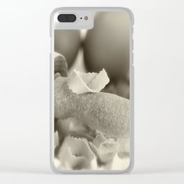 Pasta in our own production Clear iPhone Case