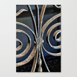 Iron at the Crypt Canvas Print