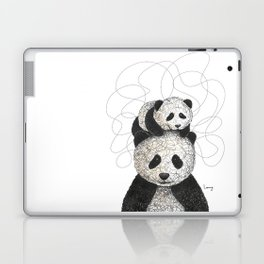 Panda Family Laptop & iPad Skin