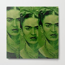 Frida Kahlo - Original Metal Print