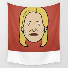 Face of Breaking Bad: Skyler White Wall Tapestry