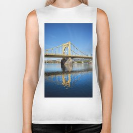 Sixth Street Bridge- Pittsburgh, Pennsylvania Biker Tank