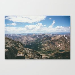 Half Moon Lakes Canvas Print