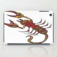 tatoo iPad Cases featuring Tatoo Scorpion by PepperDsArt