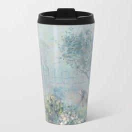 Alfred Sisley - Fog, Voisins, 1874 Travel Mug