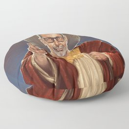 Saint Jeff of Goldblum Floor Pillow