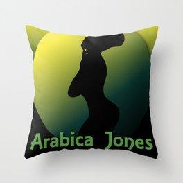 Arabica Jones® Throw Pillow