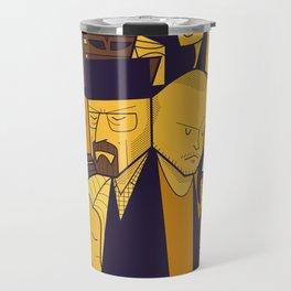 Breaking Bad (yellow version) Travel Mug
