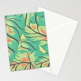 Candy Colored Monstera Stationery Cards