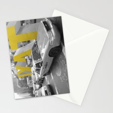 reverse taxi _ new york taxi Stationery Cards