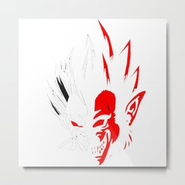 vegeta super seiya Metal Print