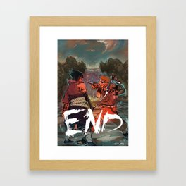 Naruto - END Framed Art Print