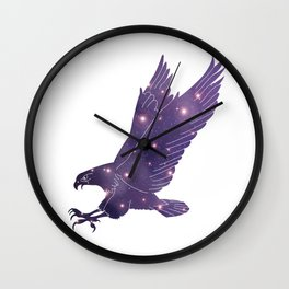 Universe in Eagle Wall Clock