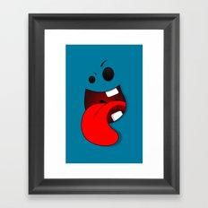 Faces V3 Framed Art Print