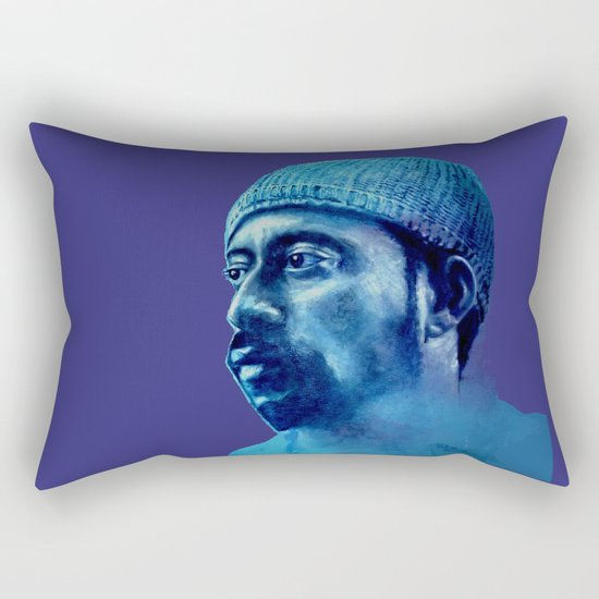 MADLIB - purple version Rectangular Pillow