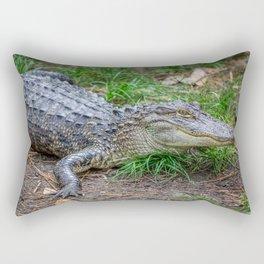 Alligator - Hello Darlin' Rectangular Pillow
