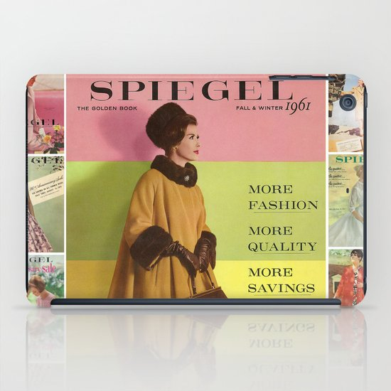 1961 Fall/Winter Catalog Cover iPad Case