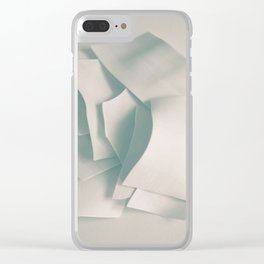 Abstract forms 33 Clear iPhone Case