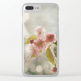 Twilight in the Garden Clear iPhone Case