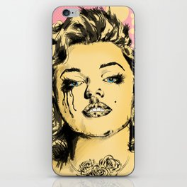 Mirror Monroe iPhone Skin
