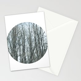 On a Cold Day Stationery Cards