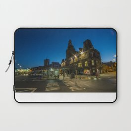 Newport Bus station at night Laptop Sleeve